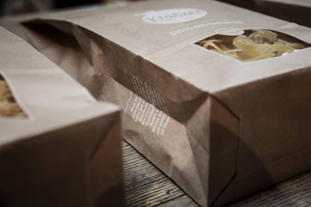 Hofladen Kratzer - Nudeln in Verpackung