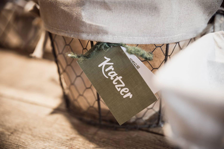 Hofladen Kratzer - Shop Detail Etikett